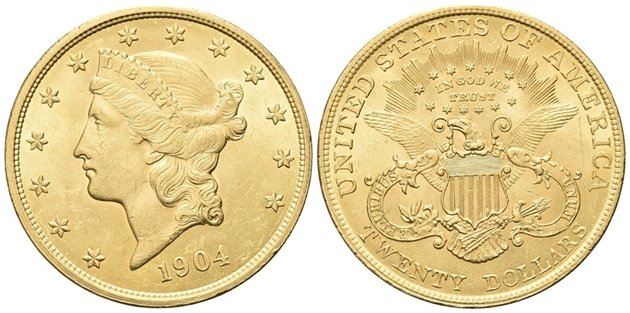 USA - 20 $ LIBERTY