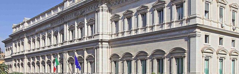 Sede Banca Italia a Roma